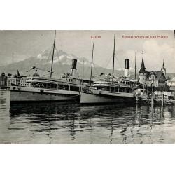 ABAO Suisse Luzern - Schweizerhofquai und Pilatus.