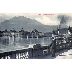 Suisse Luzern - Schweizerhofquai.