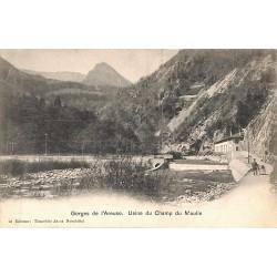 ABAO Suisse Gorges de l'Areuse. Usine du Champ du Moulin.
