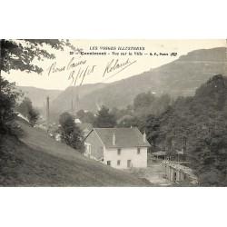 ABAO 88 - Vosges [88] Cornimont - Vue sur la Ville.