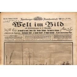 Journaux et périodiques Welt im Bild. 1918/06/19. n°174.