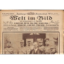 Journaux et périodiques Welt im Bild. 1918/03/27. n°162.