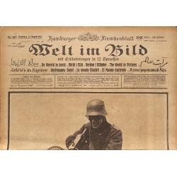 Journaux et périodiques Welt im Bild. 1918/08/14. n°182.