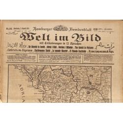 Journaux et périodiques Welt im Bild. 1918/08/07. n°181.