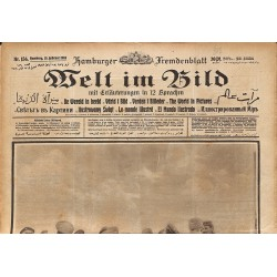 ABAO Journaux et périodiques Welt im Bild. 1918/02/13. n°156.