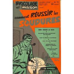 ABAO Journaux et périodiques Bricolage et Maison. 1956/03. N°76.