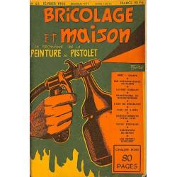 ABAO Journaux et périodiques Bricolage et Maison. 1955/02. N°63.