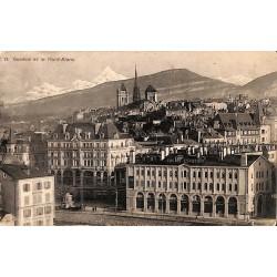 ABAO Suisse Genève - et le Mont-Blanc.
