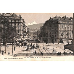 ABAO Suisse Genève - La Rue du Mont-Blanc.