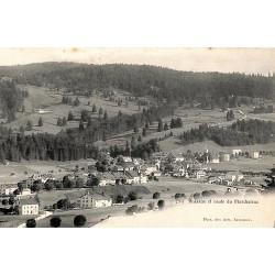 ABAO Suisse Brassus - et route du Marchairuz.