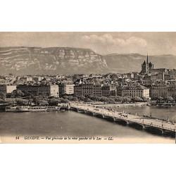 ABAO Suisse Genève - Vue générale de la rive gauche et le Lac.