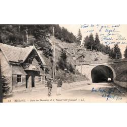 ABAO 88 - Vosges [88] Bussang - Poste des Douaniers et le Tunnel (côté français).