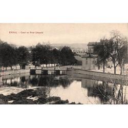 ABAO 88 - Vosges [88] Epinal - Canal au Pont Léopold.