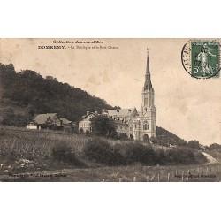 ABAO 88 - Vosges [88] Domrémy - La Basilique et le Bois Chenu.