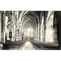ABAO 88 - Vosges [88] Cornimont - Intérieur de l'Eglise.