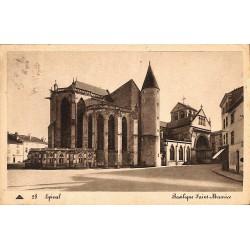 ABAO 88 - Vosges [88] Epinal - Basilique Saint-Maurice.