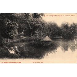ABAO 88 - Vosges [88] Bains-les-Bains - Un coin du Parc.