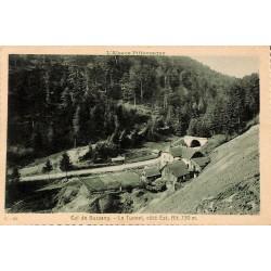 ABAO 88 - Vosges [88] Bussang - Col de Bussang. Le Tunnel, côté Est, Alt. 750 m.
