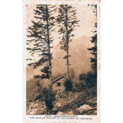 ABAO 88 - Vosges [88] Schiessrothried - Vue sur le chalet et les cimes du Hohneck.