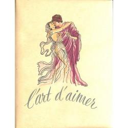 Grands papiers Ovide - L'Art d'aimer. Illustrations de Renée Ringel. TL 30 ex. + suite.