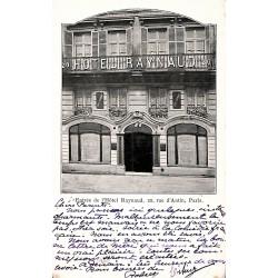 ABAO 75 - Paris [75] Paris - Entrée de l'Hôtel Raynaud. 20, rue d'Antin.