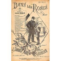 ABAO Partitions GOUBLIER, Gustave.- DANS LES ROSES.