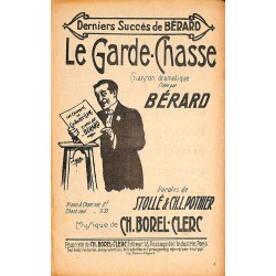 ABAO Partitions BERARD.- LE GARDE-CHASSE.