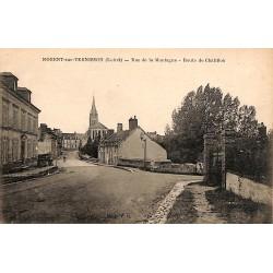 ABAO 45 - Loiret [45] Nogent-sur-Vernisson - Rue de la Montagne. Route de Châtillon.