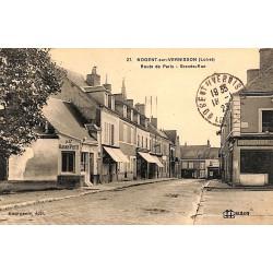 ABAO 45 - Loiret [45] Nogent-sur-Vernisson - Route de Paris. Grande-Rue.
