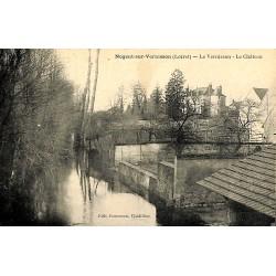 ABAO 45 - Loiret [45] Nogent-sur-Vernisson - Le Vernisson. Le Château.