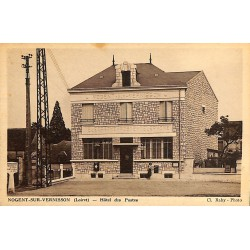 ABAO 45 - Loiret [45] Nogent-sur-Vernisson - Hôtel des Postes.