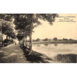 ABAO 45 - Loiret [45] Nogent-sur-Vernisson - Etang de la Montagne et Route de Châtillon-Coligny.