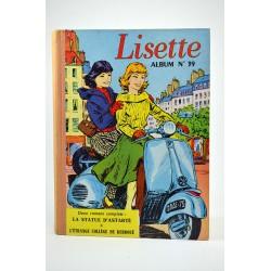 Bandes dessinées Lisette (après-guerre) - Album n°39