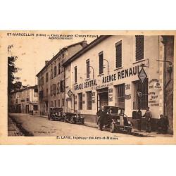 38 - Isère [38] Saint-Marcellin - Garage Central.