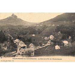 38 - Isère [38] Saint-Pierre-de-Chartreuse - La Diat et le Pic de Chamechaude.