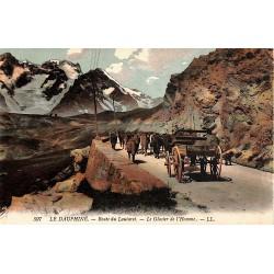 38 - Isère [38] Le Dauphiné - Route du Lautaret. Le Glacier de l'Homme.