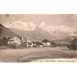 74 - Haute Savoie [74] Sallanches - St-Martin et le Mont-Blanc.