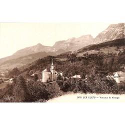 ABAO 74 - Haute Savoie [74] Les Clefs - Vue sur le Village.