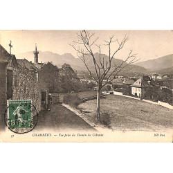 73 - Savoie [73] Chambéry - Vue prise du Chemin du Calvaire.