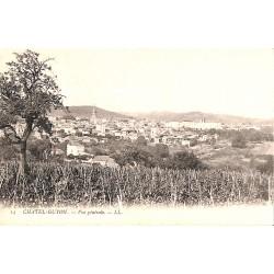 63 - Puy-de-Dôme [63] Châtel-Guyon - Vue générale.