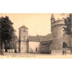03 - Allier [03] Busset - L'Entrée du Château.