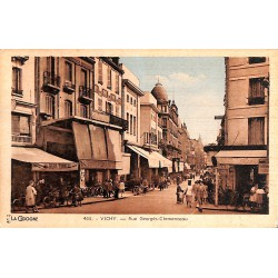 ABAO 03 - Allier [03] Vichy - Rue Georges Clémenceau.