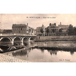 03 - Allier [03] Montluçon - Pont sur le Cher.