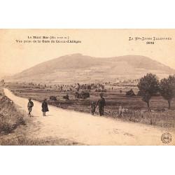43 - Haute Loire [43] Le Mont Bar. Vue prise de la Gare de Céaux d'Allègre.