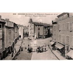 43 - Haute Loire [43] Brioude - La Place de la Fénerie.