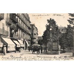 73 - Savoie [73] Aix-les-Bains - Hôtel Métropole et Rue du Casino.