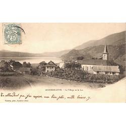 73 - Savoie [73] Aiguebelette-le-Lac - Le Village et le Lac.