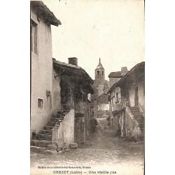 42 - Loire [42] Le Crozet - Une vieille rue.
