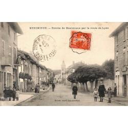 01 - Ain [01] Meximieux - Entrée de Meximieux par la route de Lyon.
