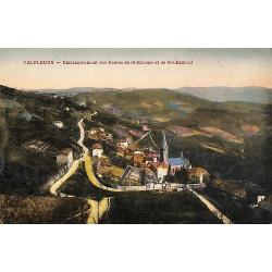 42 - Loire [42] Valfleury - Embranchement des Routes de St-Etienne et de St-Chamond.